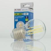 Lâmpada LED E27 4W»40W Luz Fria 400Lm G45 FILAMENTO