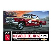 """AMT 1:25 Scale """"1962 Chevy Bel Air Northwind Super Stock"""" Model Kit"""