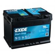 Exide EFB 70Ah 630A J+