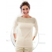 Walbusch Softpullover Glamour Gold 42