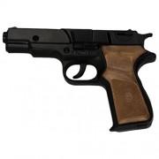 Villa Giocattoli 1250 - Pistola Giocattolo in Metallo a 8 Colpi 125 dB, Panther Black
