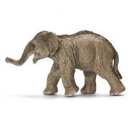 Schleich Asian Elephant Calf Toy Figure