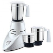 Morphy Richards Aero 500-Watt Mixer Grinder with 3 Jars (White)