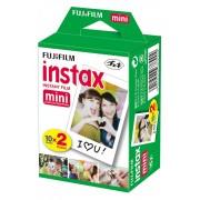 Filme Instax Mini Instantâneo Fujifilm com 20 Unidades