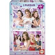 Puzzles Educa - Violetta, 2 puzzles x 100 piezas (15769)