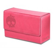 Ultra Pro Mana Dual Flip Deck Box - Pink -Matte Finish - Magic: The Gathering Symbols - Oversize