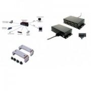 EXSYS convertisseur USB 2.0 vers 8S série RS-232, boîtier