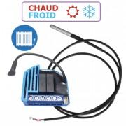 Module thermostat chaud et froid encastrable Z-Wave - QUBINO