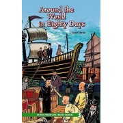 Oxford Progressive English Readers: Grade 3: Around the World in Eighty Days by Jules Verne