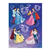 Ravensburger Children's Puzzle 150 Pieces Princes and Their Princesses