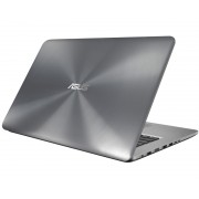 """ASUS F756UX-T4249D 17.3"""" FHD Intel Core i7-7500U 2.7GHz (3.5GHz) 8GB 1TB 128GB SSD GeForce GTX 950M 4GB ODD srebrni"""