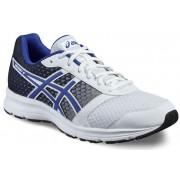 asics Patriot 8 Shoe Men White/Asics Blue/Black 49 Running Schuhe
