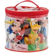 Disney Parks Exclusive Mickey and Friends Tub Bath Pool Squeeze Toys Set