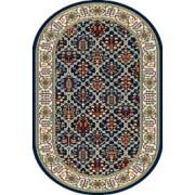Covor Tamir Navy Blue Oval, Wilton