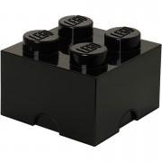 LEGO Storage Brick 4 - Black