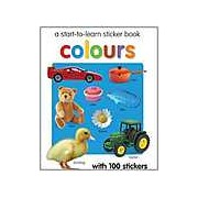 Start To Learn Colours Sticker Book