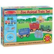 Дървена влакова композиция с животни, 10643 Melissa and Doug, 000772106436