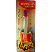 Battery Operated Musical Rock and Roll Style Rock-band Music Guitar For Kids