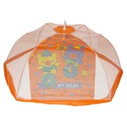 New Born Baby Kid Toddler Soft Cotton Foldable Mosquito Net Tent Cartoon Design for Baby Comfortable Sound Sleep & Protecting from Insects Bugs