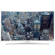 "Televizor LED Samsung 122 cm (48"") 48JU6510, Ultra HD (4K), Smart TV, Curbat, Tizen UI, Ultra Clear, Micro Dimming Pro, PQI 1100, Wireless, Wi-Fi Direct, CI+ (Alb) + Lantisor placat cu aur si argint + Cartela SIM Orange PrePay, 6 euro credit, 4 GB interne"