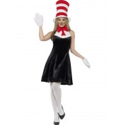 Dr. Seuss Cat In The Hat Costume - SMALL