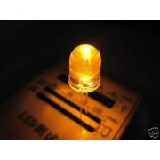 10mm 50pz LED AMBRA ULTRALUMINOSI 100000mcd