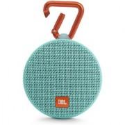JBL Clip 2 Waterproof Bluetooth Speakers (Teal)