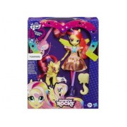 My Little Pony - Equestria Girls : Poupée Et Poney Fluttershy - Rainbow Rocks