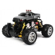 Dodge RAM Electric RC Off-Road Monster Truck 1:18 Scale 4 Wheel Drive RTR, Working Hinged Spring Sus