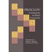 Proclus' Commentary on Plato's Parmenides by Diadochus Proclus