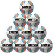 Derbystar Fußballpaket (10 Stück) BRILLANT LIGHT - weiß/blau/orange