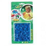 Hama - 8309 - Loisirs Créatifs - Perles et Bijoux - Blister 300 Perles Bleu Foncé