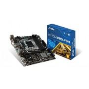 MSI H170M Pro-VDH Carte mère Intel Micro ATX Socket 1151