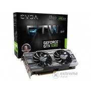 Placa video EVGA nVidia GTX 1080 8GB DDR5 FTW DT Gaming ACX 3.0 - 08G-P4-6284-KR