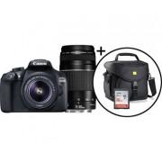 Canon EOS 1300D+Double kit+CAB2.0+16