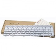 Eathtek Replacement Keyboard with Frame for HP Pavilion DV6-6000 DV6-6013CL DV6-6047CL DV6-6090US DV6-6091NR DV6-6096NR DV6-6097NR DV6-6106NR DV6-6108US DV6-6111NR DV6-6112NR series Silver US Layout
