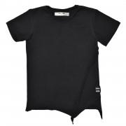 Tricou Edgy - negru, 2-4 ani