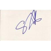 Steven Dorf Autographed 3x5 Index Card