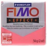 Fimo Soft Polymer Clay 2 Ounces-8020-204 Transparent Red