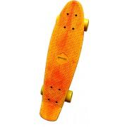 Skateboard Spartan Plastic Yellow/Orange