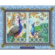 Punch Studio Playing Cards- Royal Peacock #57733