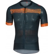 Castelli Climber's 2.0 - Maillot manches courtes - orange/noir XL Maillots manches courtes loisir
