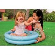 Double Ring Colourful Baby First Paddling Pool / Kids Splash Pool / Bath Tub for Boys, Girls