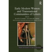 Early Modern Women and Transnational Communities of Letters