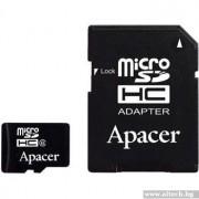 Micro SD Card, 8GB, Apacer MICRO, Class4 (AP8GMCSH4-R)