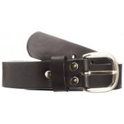 Playshoes Cinturón de piel infantil, talla 60 talla alemana, color beige (sand shell)