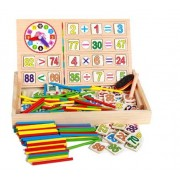 Montessori Wooden Toys Educational Baby Montessori Materials Math Toys Children Educative Toys