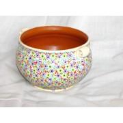 ceramica pointilism alb 002