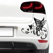 Sticker auto - Fluture artistic