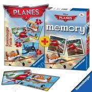 Memory Ravensburger Aviones 25+36+49 + Memory de Disney